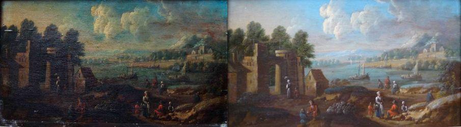 Avant - après restauration