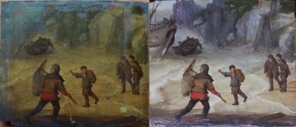 Avant -après restauration