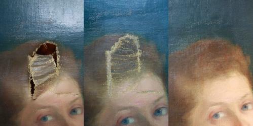Avant -pendant - après restauration